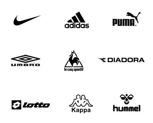 スポーツブランドのロゴ